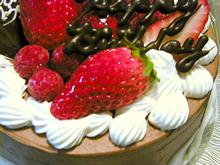 季節のおすすめケーキ