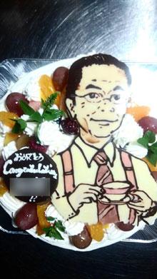 祝・合格!記念ケーキ